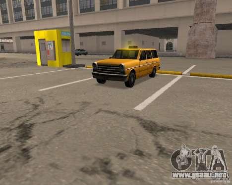 Perennial Cab para GTA San Andreas left