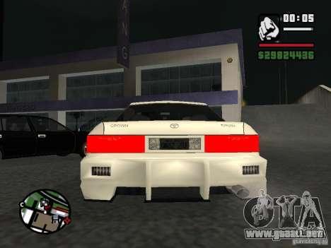 Toyota Crown Tunable para la visión correcta GTA San Andreas