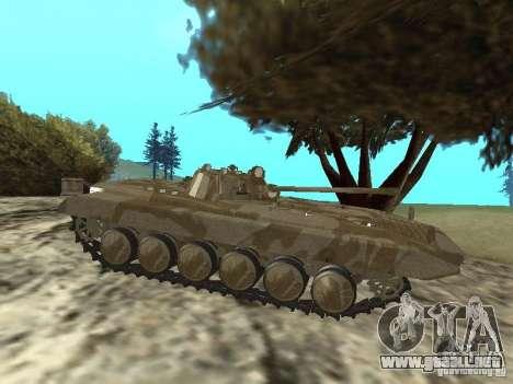 BMP-2 de CGS para GTA San Andreas vista posterior izquierda