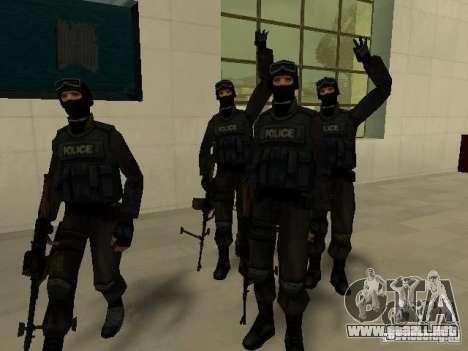 Ayuda Swat para GTA San Andreas novena de pantalla