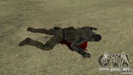 Ghost para GTA San Andreas sexta pantalla