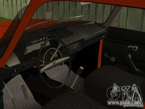 IZH 2715 para la visión correcta GTA San Andreas