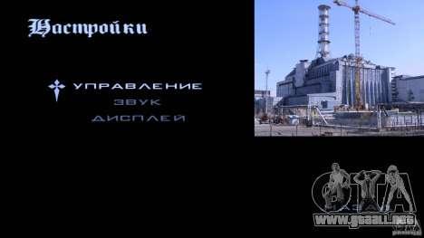 Pantallas de carga Chernobyl para GTA San Andreas sucesivamente de pantalla