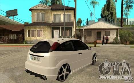 Ford Focus Coupe Tuning para la visión correcta GTA San Andreas