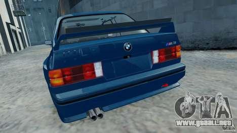 BMW M3 E30 FINAL para GTA 4 visión correcta