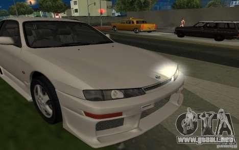 Nissan 200SX para vista inferior GTA San Andreas