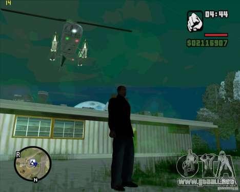Ayuda de helicóptero para GTA San Andreas