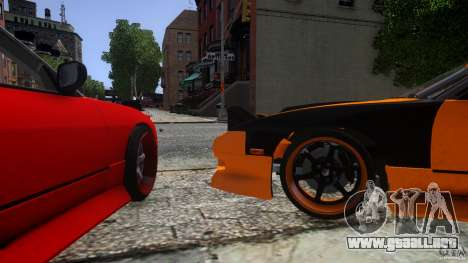 Nissan 240SX Korch para GTA 4 left