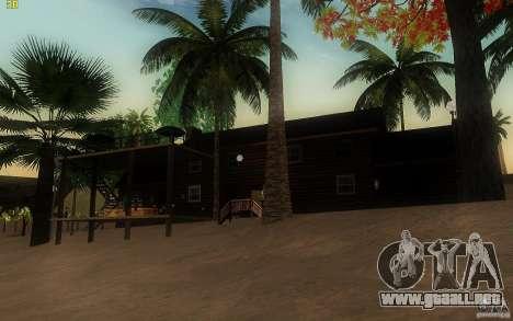 New Country Villa para GTA San Andreas tercera pantalla