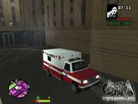 Auto-Repair para GTA San Andreas segunda pantalla