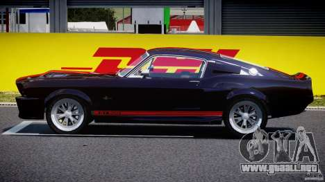 Ford Shelby GT500 1967 para GTA 4 left