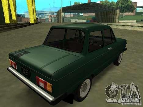 ZAZ-968 m para la visión correcta GTA San Andreas