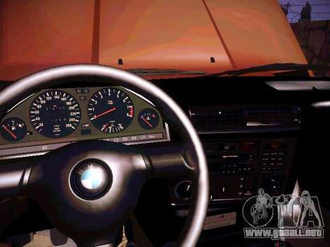 BMW M3 E30 para la vista superior GTA San Andreas
