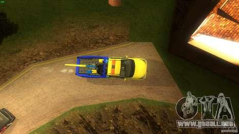 Toyota Avanza Towtruck para la visión correcta GTA San Andreas