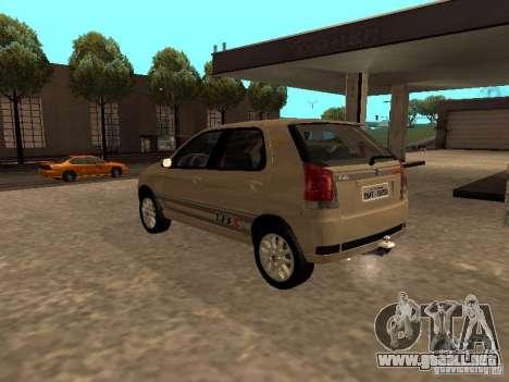 Fiat Palio 1.8R para GTA San Andreas left