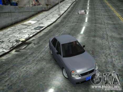 LADA 2170 DUBAI para GTA 4 Vista posterior izquierda
