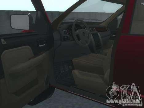 Dodge Ram 1500 v2 para GTA San Andreas vista hacia atrás