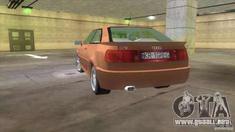 Audi S2 para GTA Vice City left