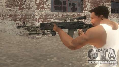 AK-47 v2 para GTA San Andreas segunda pantalla