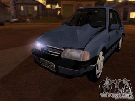 Chevrolet Monza GLS 1996 para visión interna GTA San Andreas