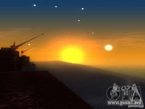 Agua HQ para GTA San Andreas sucesivamente de pantalla
