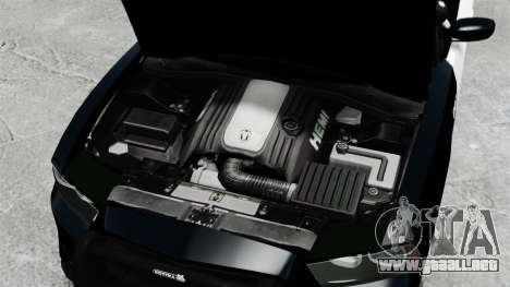 Dodge Charger 2013 Police Code 3 RX2700 v1.1 ELS para GTA 4 vista interior