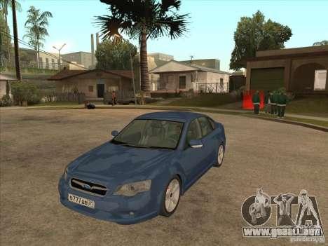 Subaru Legacy 3.0 R para GTA San Andreas