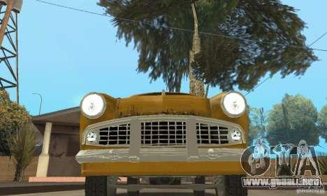 Moskvitch 407 1958 para las ruedas de GTA San Andreas