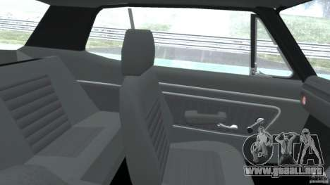 Nissan Skyline 2000 GT-R para GTA 4 vista hacia atrás