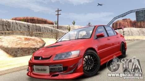 Mitsubishi Lancer Evolution VIII MR para GTA 4
