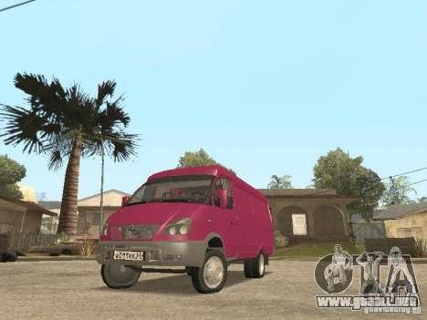 2705 Gacela para vista lateral GTA San Andreas