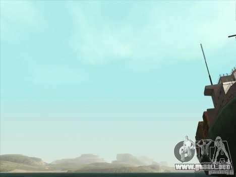 Un realista Timecyc para GTA San Andreas octavo de pantalla