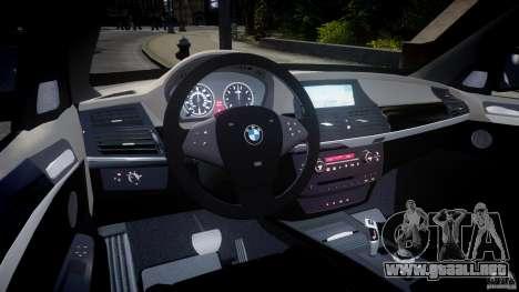 BMW X5 Experience Version 2009 Wheels 223M para GTA 4 visión correcta