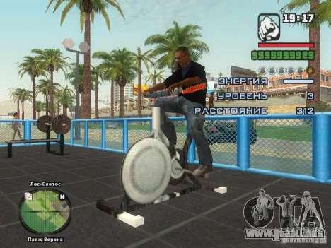 LA camiseta MIZ para GTA San Andreas sexta pantalla