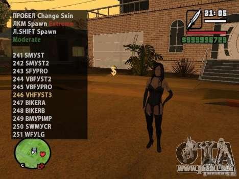 GTA IV peds to SA pack 100 peds para GTA San Andreas novena de pantalla