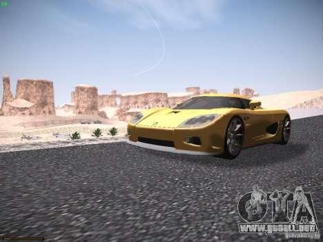 LiberrtySun Graphics ENB v3.0 para GTA San Andreas quinta pantalla
