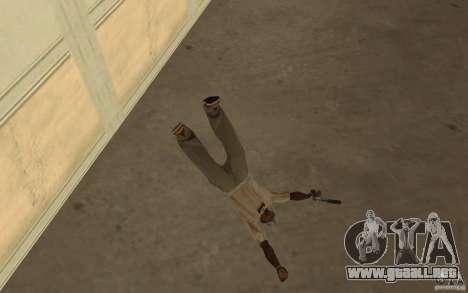Nueva caída para GTA San Andreas tercera pantalla