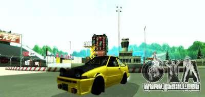 Miytomi para GTA San Andreas segunda pantalla