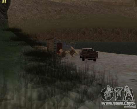 Fiesta de la naturaleza para GTA San Andreas segunda pantalla