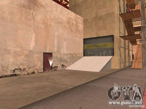 Puente rojo-ascensor para GTA San Andreas segunda pantalla