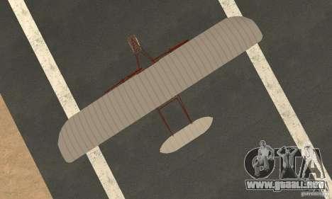 The Wright Flyer para la visión correcta GTA San Andreas