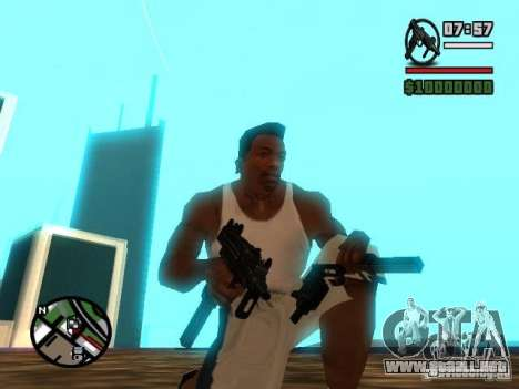 Gangster Weapon Pack para GTA San Andreas tercera pantalla