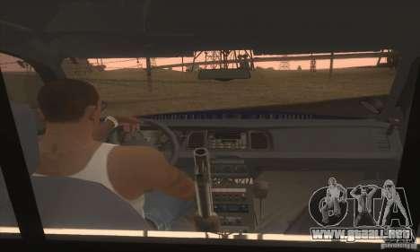 Ford Crown Alabama Police para GTA San Andreas vista posterior izquierda