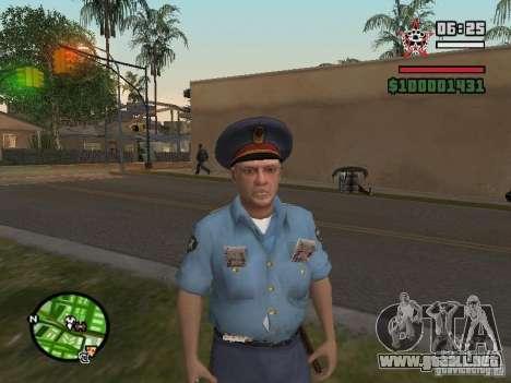 Policías para GTA San Andreas