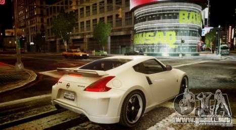 Nissan 370Z Final para GTA 4 visión correcta