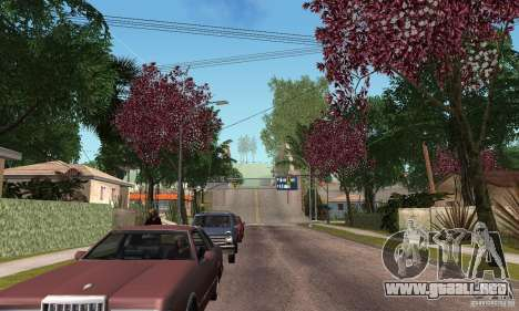 Green Piece v1.0 para GTA San Andreas sucesivamente de pantalla
