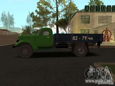 ZIL 164 para GTA San Andreas left
