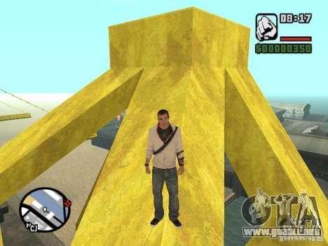 Desmond Miles para GTA San Andreas sucesivamente de pantalla