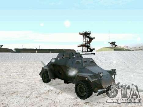 Vehículo blindado de juego tras las líneas enemi para GTA San Andreas