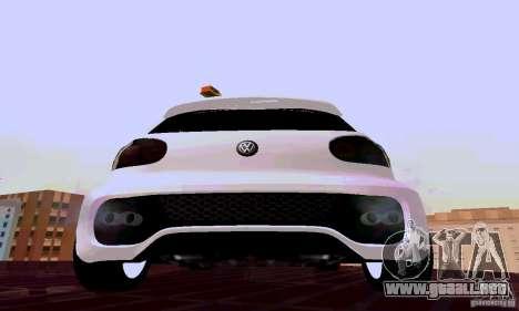 Volkswagen Golf 5 GTI W12 para la visión correcta GTA San Andreas